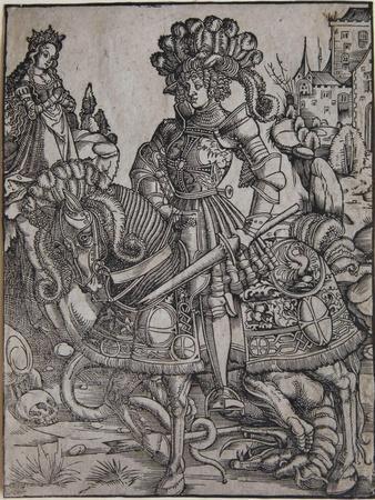 St. George on Horseback, C.1510