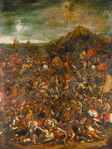The Battle of Cannae in 216 Bc by Hans Burgkmair