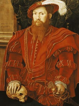 Portrait of a Gentleman of the English Court, 1546