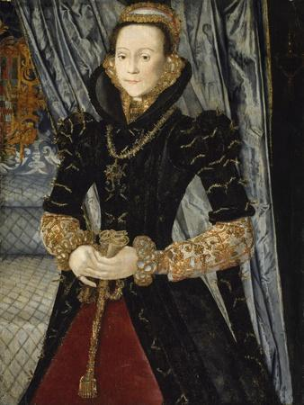 Portrait of a Lady of the Wentworth Family (Probably Jane Cheyne), 1563
