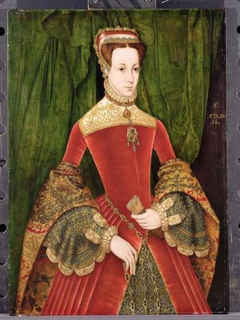 Portrait of a Woman, Aged 16, Previously Identified as Mary Fitzalan, Duchess of Norfolk, 1565