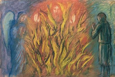 Moses & the burning bush, 1990