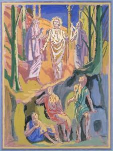 Study for mural of the Ascension, 1973 by Hans Feibusch