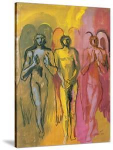 Study of Angels, 1988 by Hans Feibusch