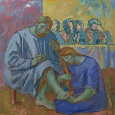 The Footwashing, 1990