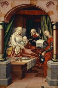 Birth of the Virgin, 1512 by Hans Fries