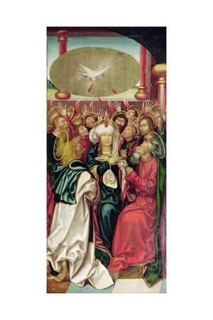 Bugnon Altarpiece: Pentecost, c.1507