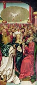 Bugnon Altarpiece: Pentecost, c.1507 by Hans Fries
