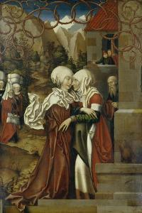 The Visitation, 1512 by Hans Fries