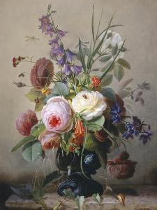 Still Life of Summer Flowers by Hans Hermann