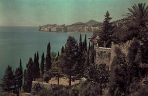 A View of the Dalmatian Coast by Hans Hildenbrand