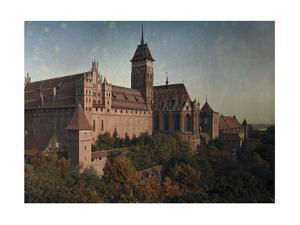 Schloss Marienburg Castle, the Most Significant of the Teutonic Order by Hans Hildenbrand