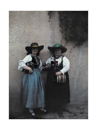 Two Women Sell Whiskey