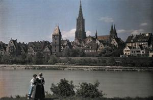 View of the City of Ulm, Dating Back to the Middle Ages by Hans Hildenbrand