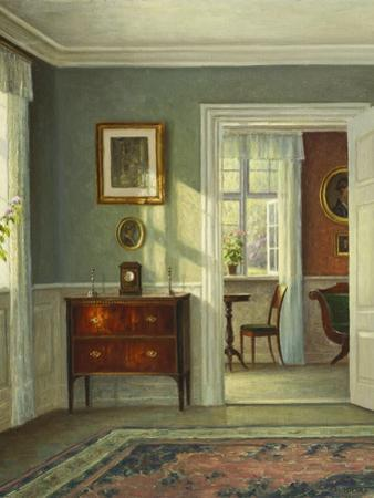 An Interior by Hans Hilsoe