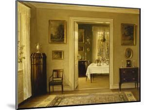 Looking Through to the Dining Room by Hans Hilsoe