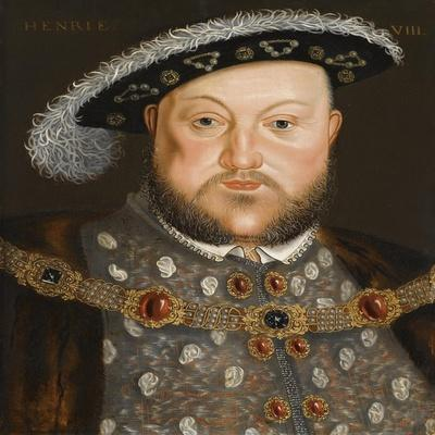 Portrait of King Henry VIII of England