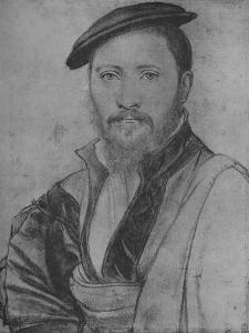 'A Gentleman: Unknown', 1535 (1945) by Hans Holbein the Younger
