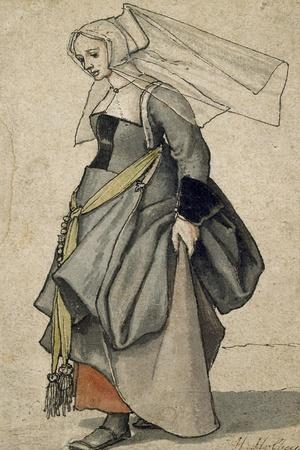 A Young English Woman, 16th Century