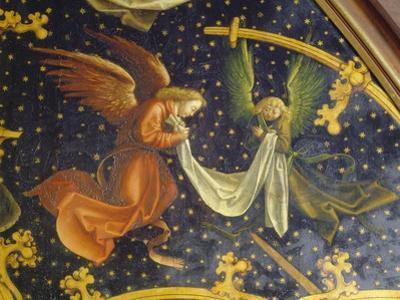 Basilikatafel S.Maria Maggiore. Detail Der Re.Tafel: Zwei Engel. Nadelholz by Hans Holbein the Younger
