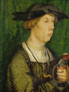 Bildnis Eines Herrn Weiss Aus Augsburg, 1515 by Hans Holbein the Younger