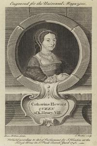 Catharine Howard, Queen of King Henry VIII by Hans Holbein the Younger