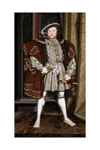 Full-Length Portrait of King Henry VIII by Hans Holbein the Younger