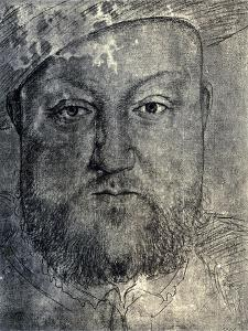 Henry VIII, C1540 by Hans Holbein the Younger