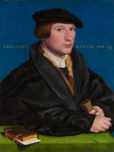Hermann von Wedigh III (Died 1560), 1532 by Hans Holbein the Younger