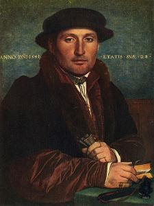 'Portrait of a Man', 1541, (1909) by Hans Holbein the Younger