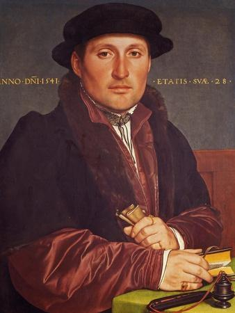 Portrait of a Young Merchant (Supposedly Hans Von Muffel from Nuremberg)