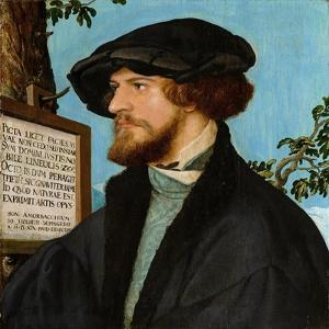 Portrait of Bonifacius Amerbach, 1519 by Hans Holbein the Younger