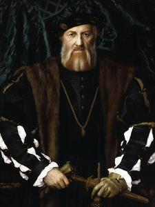 Portrait of Charles de Solier by Hans Holbein the Younger
