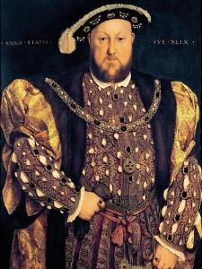 Portrait of Henry VIII (1491-1547) Aged 49, 1540 by Hans Holbein the Younger