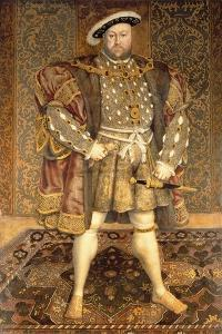 Portrait of Henry VIII (1491-1547) by Hans Holbein the Younger