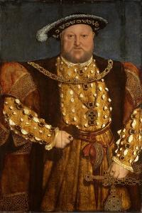 Portrait of King Henry VIII by Hans Holbein the Younger