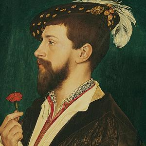 Portrait of Simon George of Cornwall by Hans Holbein the Younger
