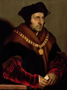Portrait of Sir Thomas More (1478-1535) by Hans Holbein the Younger