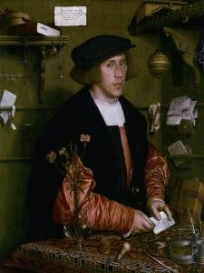 Portrait of the Merchant George Gisze, 1532 by Hans Holbein the Younger