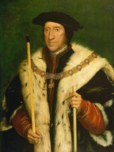 Portrait of Thomas Howard, 3rd Duke of Norfolk, C.1540 by Hans Holbein the Younger