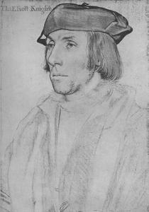 'Sir Thomas Elyot', c1532-1534 (1945) by Hans Holbein the Younger