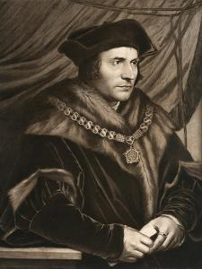 Sir Thomas More, 1527 by Hans Holbein the Younger