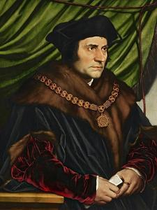 Sir Thomas More by Hans Holbein the Younger