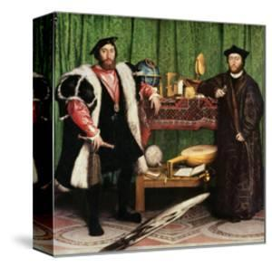 The Ambassadors, 1533 by Hans Holbein the Younger