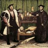 The Ambassadors, 1533-Hans Holbein the Younger-Giclee Print