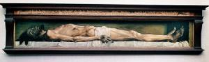 The Body of the Dead Christ in the Tomb. 1521 by Hans Holbein the Younger