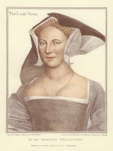 The Lady Vaux by Hans Holbein the Younger