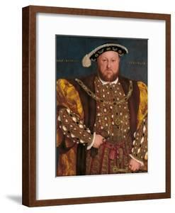 Portrait of Henry VIII by Hans il Giovane Holbein