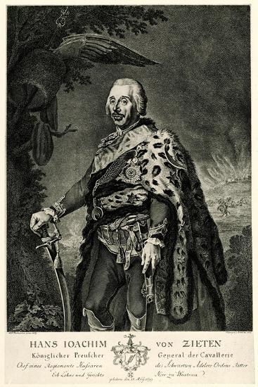 Hans Joachim Von Zieten, 1884-90--Giclee Print