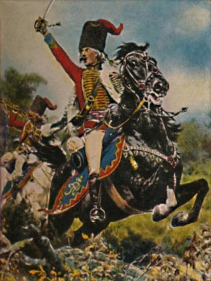 'Hans Joachim von Ziethen 1699-1786. - Gemälde von W. Schuch', 1934-Unknown-Giclee Print